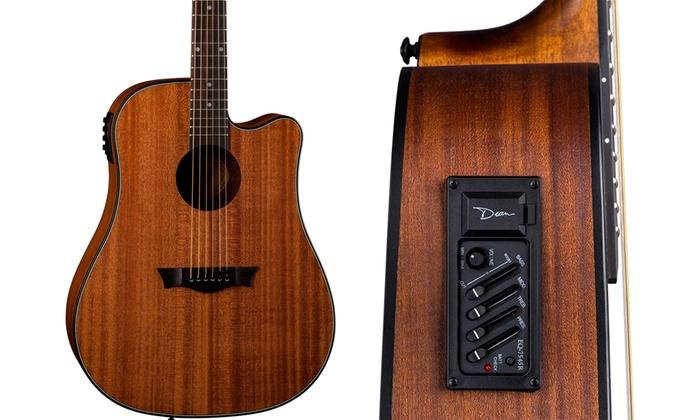 Dean Guitars AXS Dreadnought Cutaway Acoustic-Electric Guitar