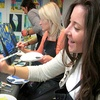 46% Off BYOB Painting Class at Wine and Design