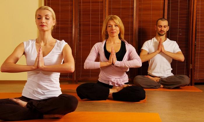 YogaRama - Sayreville: Four Weeks of Unlimited Yoga Classes at YogaRama (31% Off)
