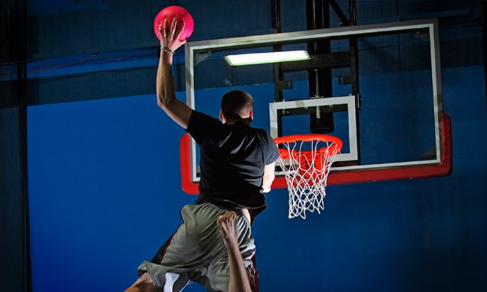 Bounce! Trampoline Sports - Bounce Poughkeepsie: Two Hours of Trampoline Play for Two or Four at Bounce! Trampoline Sports (Up to 54% Off)