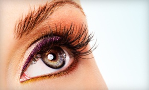 Lace Hair Care: Full Set of Silk or Mink Eyelash Extensions with Option for Four-Week Touchup at Lace Hair Care (Up to 78% Off)