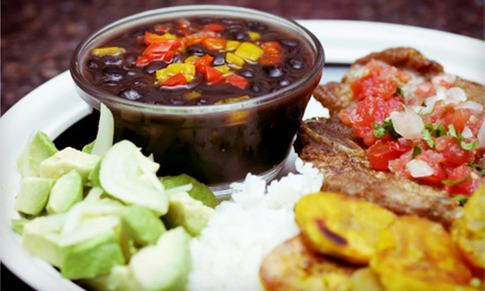 Cazabe Restaurant - Jessup: Dominican Cuisine for Two or Four at Cazabe Restaurant (Up to 52% Off)