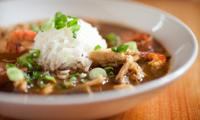 Sister Cities Cajun and BBQ - St. Louis: $15 for $30 Worth of Cajun Food and Barbecue at Sister Cities Cajun and BBQ