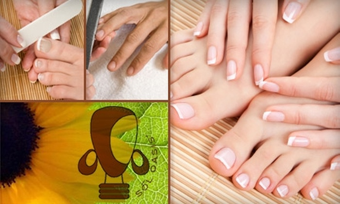 Sol Oasis - Peachtree Hills: $27 for a Martini Mani-Pedi at Sol Oasis ($55 Value)