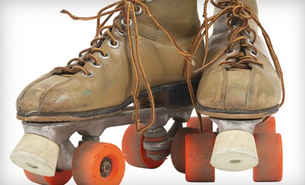 Admission, Skate Rental, Soda and Slice of Pizza for 1 (a $14 value) - Fleetwood Roller Rink in Summit Argo
