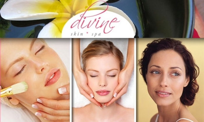 Divine Skin Spa - Paradise Valley: $39 for a Signature Pumpkin Orange Peel and Micro-Derm Skin Spatula at Divine Skin Spa (Up to $158 Value)