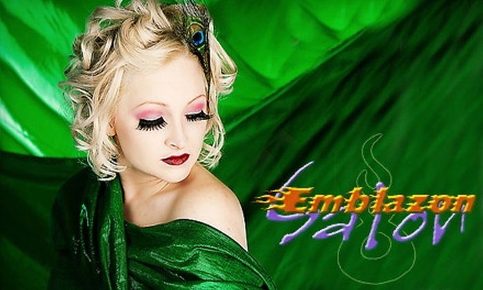 Emblazon Salon - South Bend: $30 for $60 Worth of Salon Services at Emblazon Salon