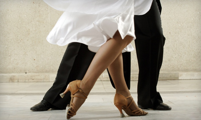 It's a Great Day for Dancing - Asheville: $25 for Two Ballroom-Dance Lessons and One Group Lesson at It's a Great Day for Dancing ($80 Value)