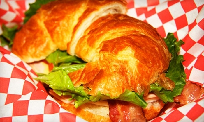 Hutch's Pie & Sandwich Shop - Weatherford: $6 for $12 Worth of Breakfast, Lunch, and Fried Pies at Hutch's Pie & Sandwich Shop in Weatherford
