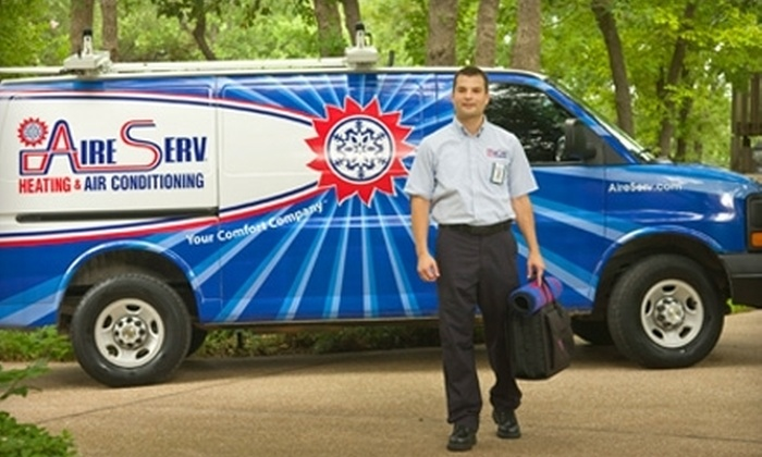 Aire Serv of West Michigan - Walker: $39 for a 24-Point Heating Tune-Up and Safety Inspection from Aire Serv of West Michigan (Up to $159 Value)