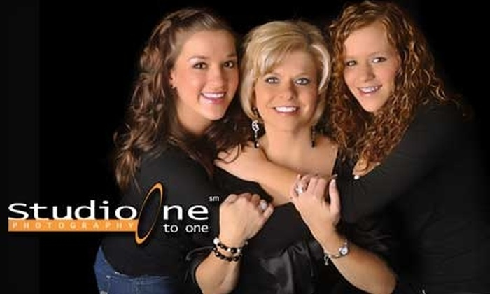 Studio One to One - Multiple Locations: $12 for a Photo Shoot and 12 Prints at Studio One to One ($109.95 Value)
