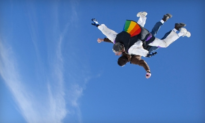 Xtreme Skydivers - Calhoun West: $120 for a Tandem Jump at Xtreme Skydivers ($299.99 Value)