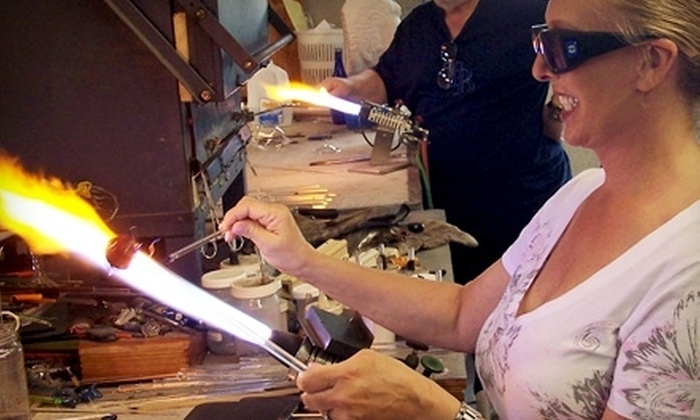 Zen Glass Studio - St. Petersburg: Make Your Own Glass Pendants or Private Group Workshop at Zen Glass Studio in St. Petersburg