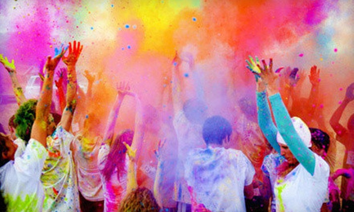 Color Me Rad - Indianapolis: $20 for a 5K Race Entry to Color Me Rad on Saturday, September 8 (Up to $40 Value)