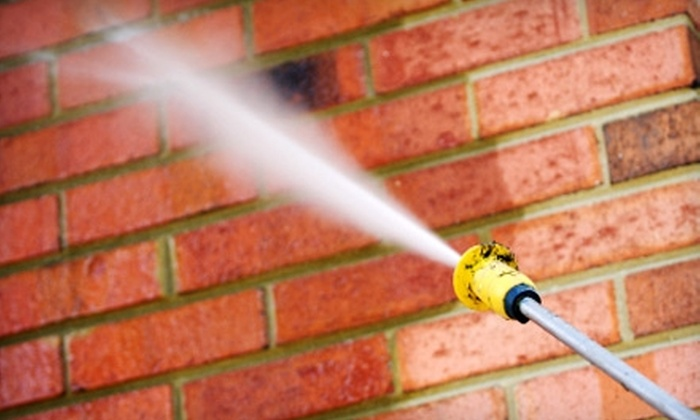 All Bright Pressure Washing - Muskegon: $45 for One Hour of Residential Power Cleaning from All Bright Pressure Washing ($90 Value)