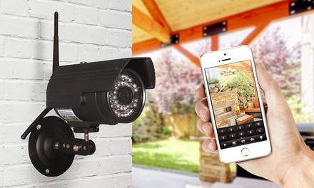 Caméra de vidéosurveillance Wifi - HD d'extérieur, avec carte SD 64Go en option, dès 59,99€ (jusqu'à 62% de réduction)