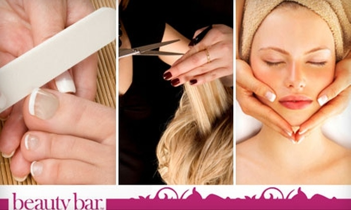 Beauty Bar - Ottawa: Half Off Spa Package, Hour-Long Facial, or Two Children's Haircuts at Beauty Bar