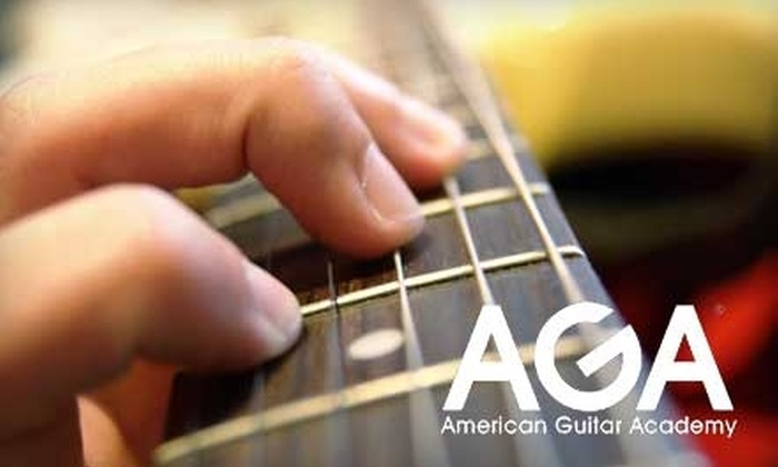 American Guitar Academy - Multiple Locations: Private Guitar Lessons from American Guitar Academy. Choose From Two Options. (Up to a $144.95 Value)