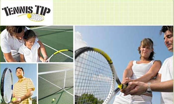 Tennis Tip - New York City: Three Tennis Lessons for $60 (66% Off $180 Value)