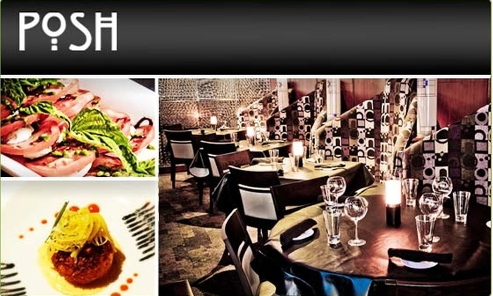 Posh Restaurant - Downtown - Penn Quarter - Chinatown: $15 for a $35 Groupon to Posh Restaurant