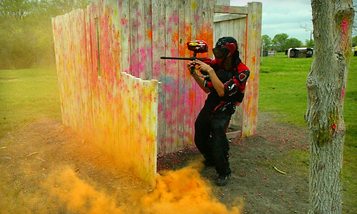 Official Paintball Games of Texas - Forney: Paintball Package with Equipment and Lunch for Two or Four at Official Paintball Games of Texas in Forney