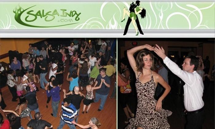 SalsaIndy - Meridian-kessler: $20 for Four Salsa Dance Classes from SalsaIndy ($40 Value)