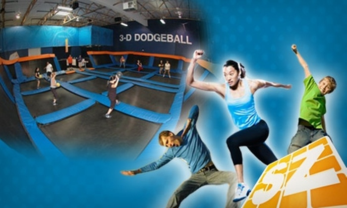 Sky Zone Sacramento - Loomis Basin-Folsom Lake: $10 for Two Hours of Open Jumping and Shoe Rental at Sky Zone Sacramento (Up to $22 Value)