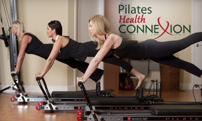 Pilates Health Connexion - Boca Del Mar: $59 for Five Reformer Pilates Classes ($150 Value) or $29 for Five Yoga or Zumba Classes ($100 Value) at Pilates Health Connexion in Boca Raton