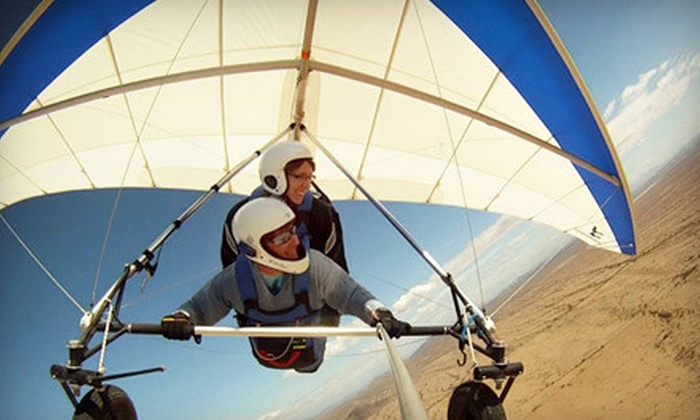 Sonora Wings - Copper Mountain Ranch: $135 for a Tandem Hang Gliding Discovery Flight from Sonora Wings in Maricopa ($225 Value)