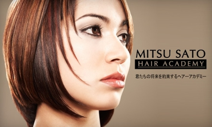 null - Overland Market Place: $20 for $40 Worth of Services at Mitsu Sato Hair Academy in Overland Park