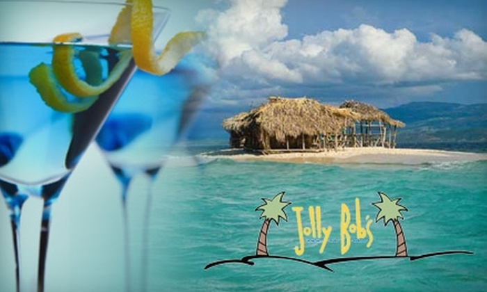 Jolly Bob's - Marquette: $15 for $30 Worth of Caribbean Fare and Drinks at Jolly Bob's