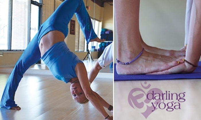 Darling Yoga - College Village: $30 for One Month of Unlimited Yoga Classes at Darling Yoga ($130 Value)