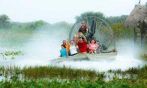 Up to 29% Off Swamp Safari Tour at Billie Swamp Safari at Billie Swamp Safari, plus 6.0% Cash Back from Ebates.