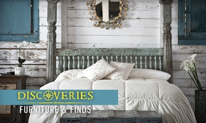 Discoveries Furniture & Finds - Hammond: $40 for $100 Toward Designer Furnishings at Discoveries Furniture & Finds
