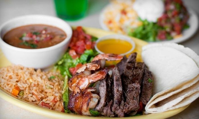 Joe Taco - Amarillo: $7 for $15 Worth of Mexican Fare at Joe Taco