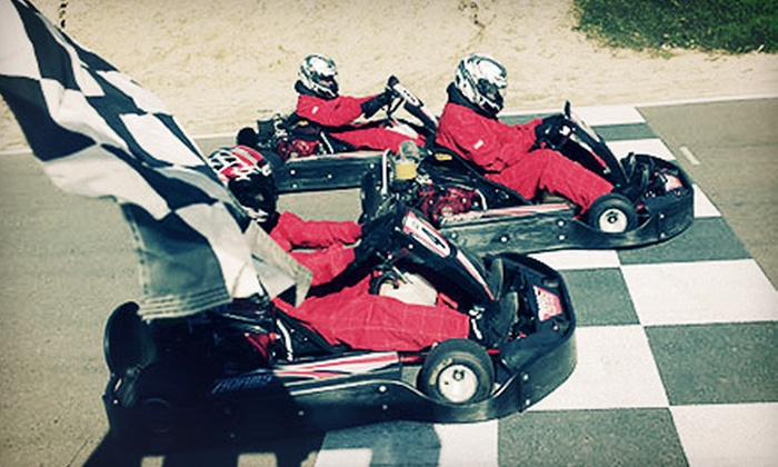 Adams Motorsports Park - Riverside: Two Kart Races Monday–Friday or Sunday, or One Professional Kart Class for Two at Adams Motorsports Park (Up to 42% Off)