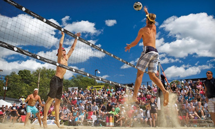 US Open of Beach Volleyball 2011 - Cincinnati: One-Day Ticket or Three-Day Pass to the US Open of Beach Volleyball 2011 from September 2–4