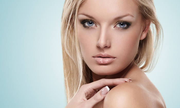 "Euphoria ""THE"" Salon - Simi Valley: $47 for a Salon Package with Makeup, Blow-Dry Style, and Manicure at Euphoria The Salon in Simi Valley ($108 Value)"