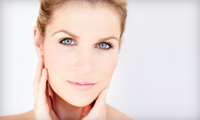 Spa Catalina - Platte Ridge: Nonsurgical Microcurrent Facelift at Spa Catalina (Up to 66% Off). Three Options Available.
