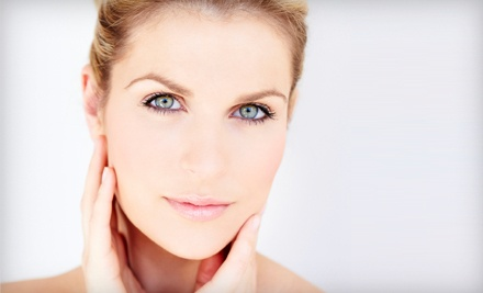 Nonsurgical Microcurrent Facelift with Elite Ceuticals Lift Treatment (a $199 value) - Spa Catalina in Kansas City
