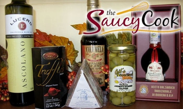 The Saucy Cook - Lincoln: $10 for $20 Worth of Gourmet Fare and Cooking Products at The Saucy Cook