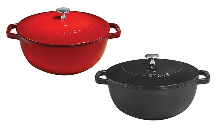 Staub Cast Iron 4-Quart French Oven