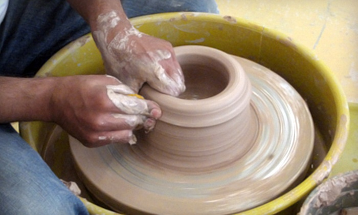 Fired Up Studios - Como: $60 for Clay Date Pottery Class for Two at Fired Up Studios ($120 Value)