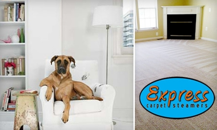 Express Carpet Steamers - Buffalo: $47 for a Three-Room Carpet Cleaning from Express Carpet Steamers ($105.99 Value)