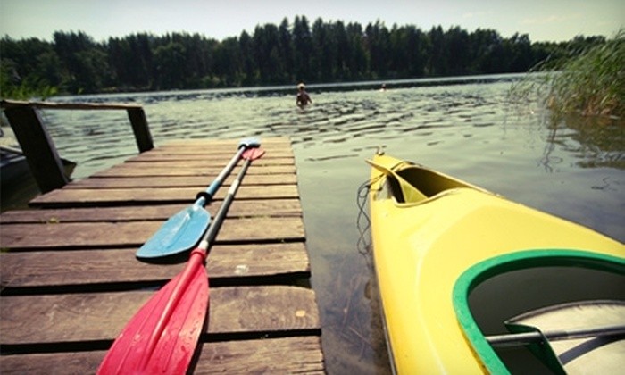 Normandy Kayak Rental - Normandy: $10 for Three-Hour Kayak Rental on Bedford Lake from Normandy Kayak Rental in Normandy