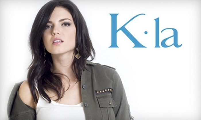 K-la - Charlotte: $30 for $60 Worth of Designer Clothing and Accessories at K-la