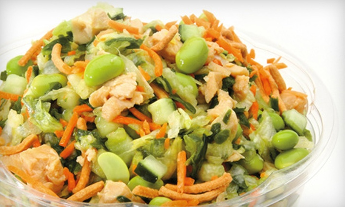 Chop Stop - Encino: $7 for $14 Worth of Hearty Chopped Salads, Wraps, and Soups at Chop Stop