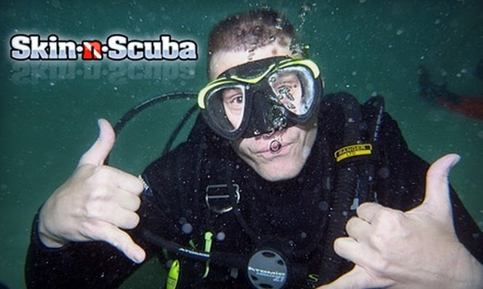 Skin-n-Scuba - Independence: $10 for a Two-Hour Beginner's Scuba-Diving Training at Skin-n-Scuba ($20 Value)