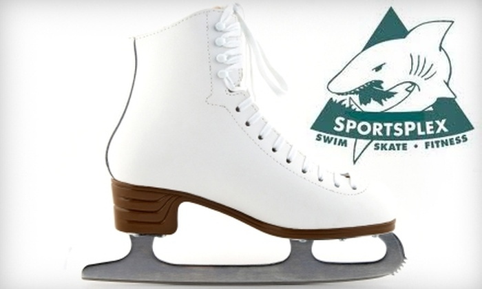 Triangle SportsPlex - Hillsborough: $9 for Two Ice-Skating Admissions with Skate Rental at Triangle SportsPlex (Up to $18 Value)