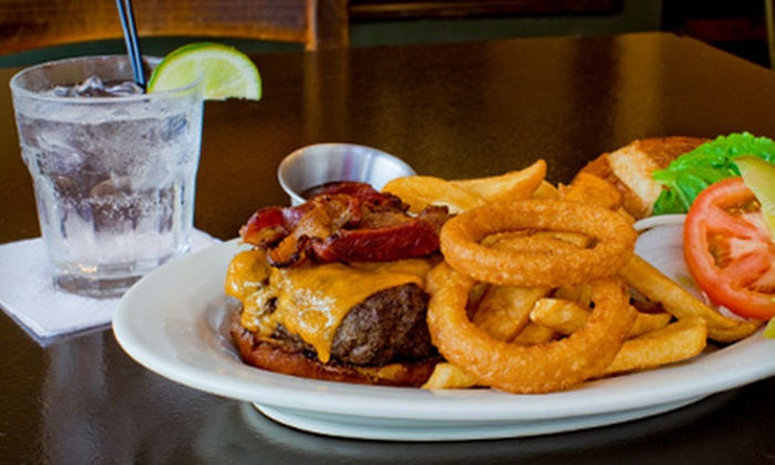 Chicago Sports Hub - Dunning: $15 Worth of Stuffed Burgers, Pasta, and Pizza